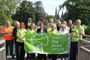 Beacon Park Green Flag Award 2013 & 2014