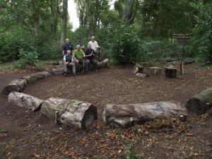 image of cpcg members in woodland
