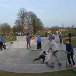 Beacon Park's skatepark