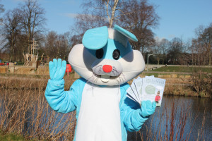 Easter Bunny with Swinfen Broun Trail