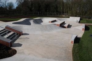 Beacon Park's skatepark