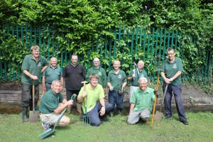 Volunteers at Beacon Park