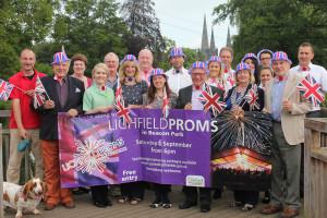 Lichfield Proms 2014 sponsors