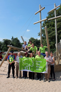 Beacon Park Green Flag Award 2014