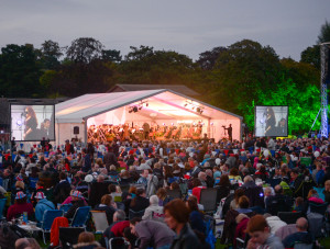 Lichfield Proms in Beacon Park 2014