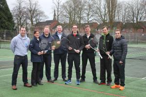 Free tennis at Beacon Park partnership