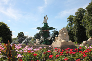 Museum Gardens in Beacon Park