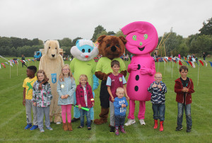 We had a lovely day at the Fun Day