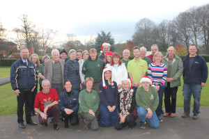 Park volunteers Xmas gathering