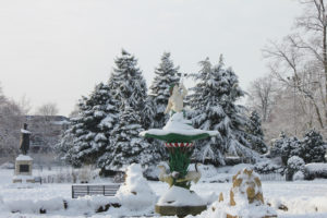image of Beacon Park in the snow