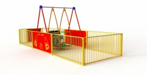 an image of an accessible swing