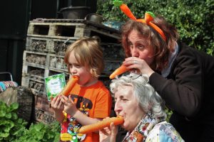 Carrot whistles