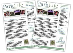 image of parklife front cover